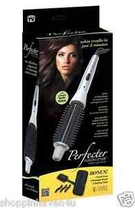 """Calista Tools 2"""" Perfecter Fusion Styler with Brush Thermal Bag Clips ..."""