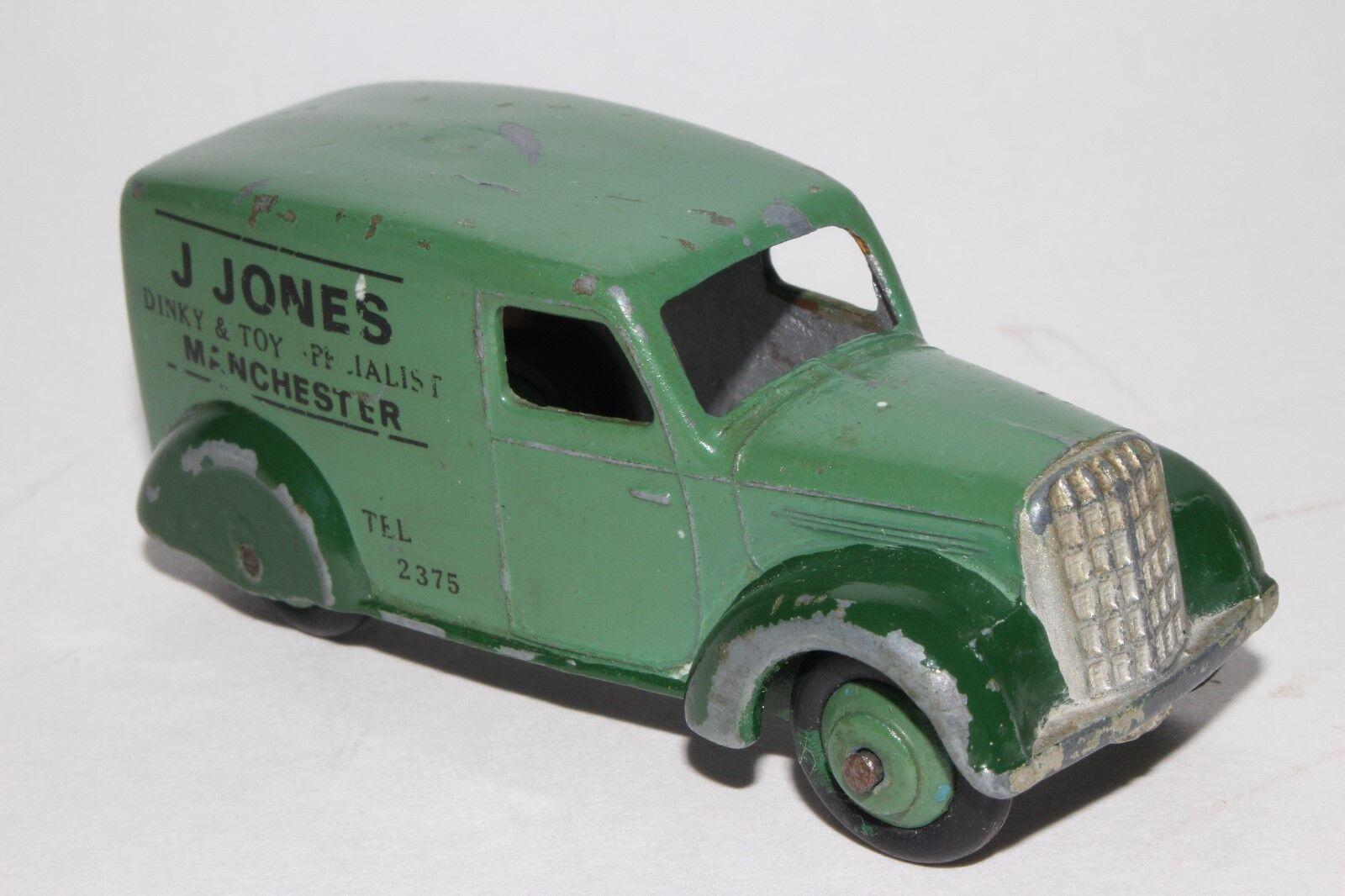 Década de 1950 Dinky Toys Van, publicidad personalizada
