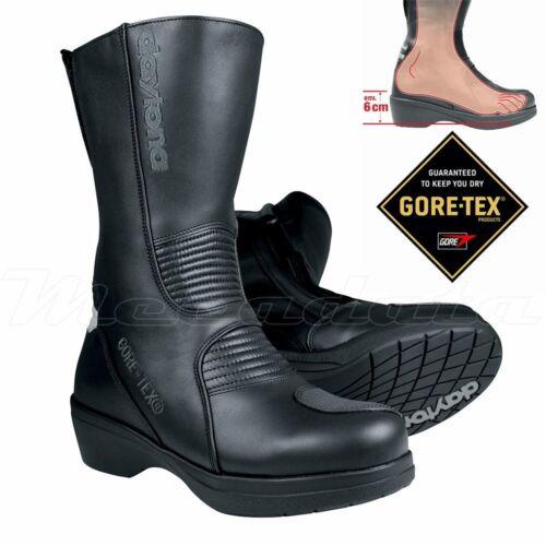 BOTTES MOTO FEMME AVEC TALONS 6 CM GORE-TEX DAYTONA LADY PILOT GTX®