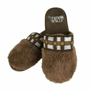 Star-Wars-Chewbacca-Mule-Slip-On-Adult-Slippers-Novelty-One-Size
