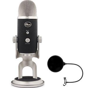 blue microphones yeti pro usb condenser microphone multipattern w wind screen 836213001967 ebay. Black Bedroom Furniture Sets. Home Design Ideas