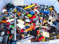 4 Four POUND Of LEGO'S Bricks part pieces Lot Star Wars City Etc Bulk 100% Lego