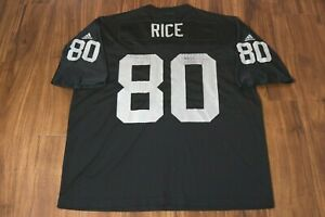 Details about Vintage Adidas Jerry Rice Oakland Raiders Jersey #80 Size XL NFL Football VG 90s