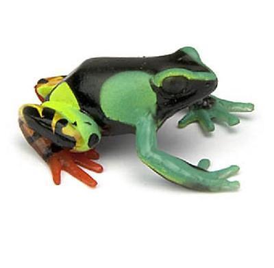 RARE Kaiyodo Yujin Colorata Eastern Madagascar Painted Mantella Frog Figure