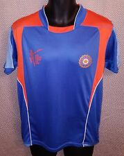 India National Cricket Team Official ICC World Cup 2015 Jersey EUC - Youth Large