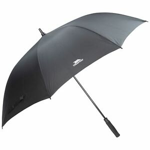 Trespass-Black-Umbrella-Automatic-Windproof-Blue-Brollie-With-Sleeve-Birdie