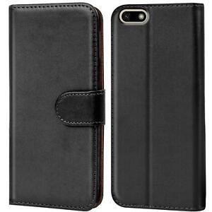 Handy-Huelle-Huawei-Y5-2018-Case-Schutz-Tasche-Cover-Wallet-Flip-Etui-Bookcase