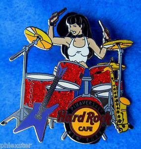 New-York-Citta-Pinaversary-Drummer-Girl-Dimebag-Chitarra-09-Hard-Rock-Cafe-a-Le