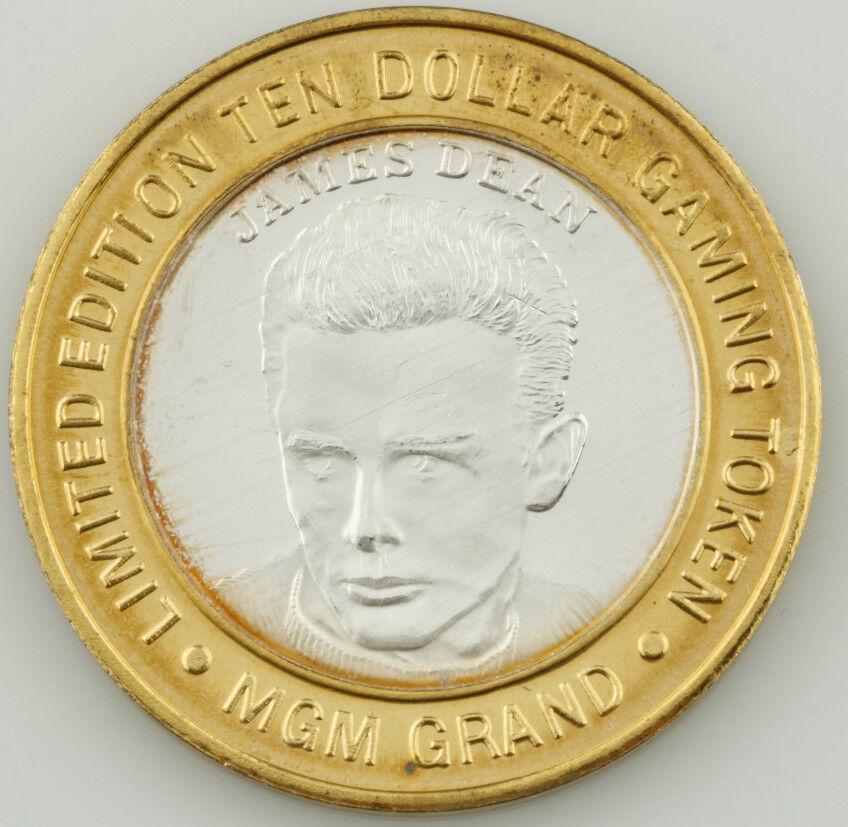 Mgm Große, Las Vegas Dollar Spiel Zeichen Zeichen Zeichen .999 Fein Silber Münze 5e4782