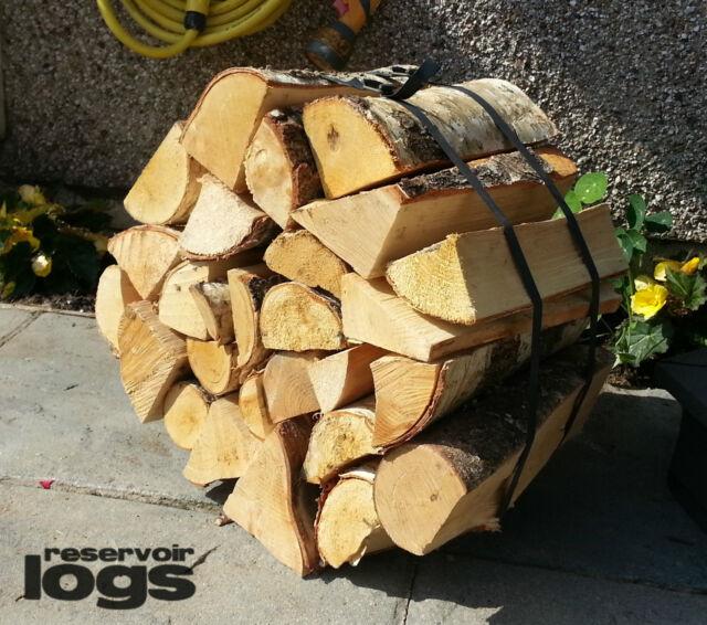 kiln dry hardwood wheel of firewood logs 25cm 20kg 24 hour delivery ready2burn