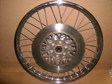 SUZUKI GS 250 X DOHC 1980 front wheel / takasago  18 x 160 rim & disc / rotor