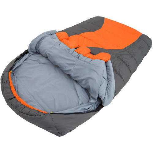 Double Mummy Sleeping Bag 20F Degree W  Removable Liner Outdoor Trail Camping