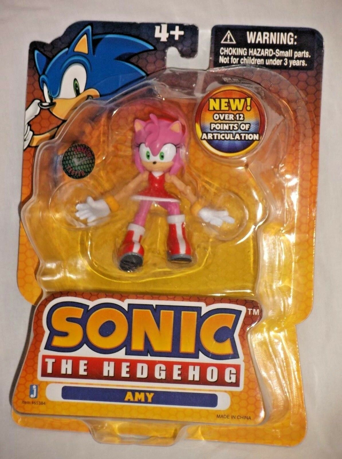 ToysRus EXCLUSIVE Jazwares SONIC HEDGEHOG Poseable Action Figure AMY ROSE Sega