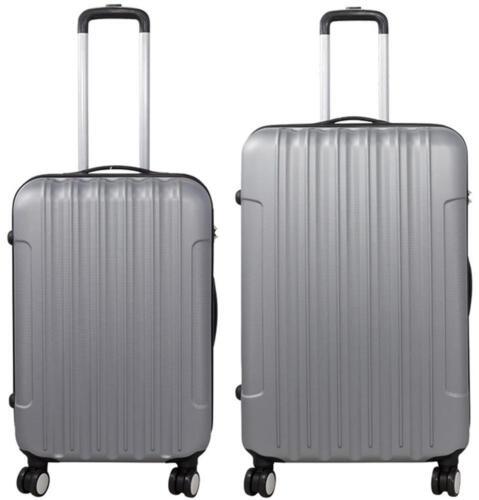 Valise coque rigide en ABS-Federation tissu au design classique série vigo Argent