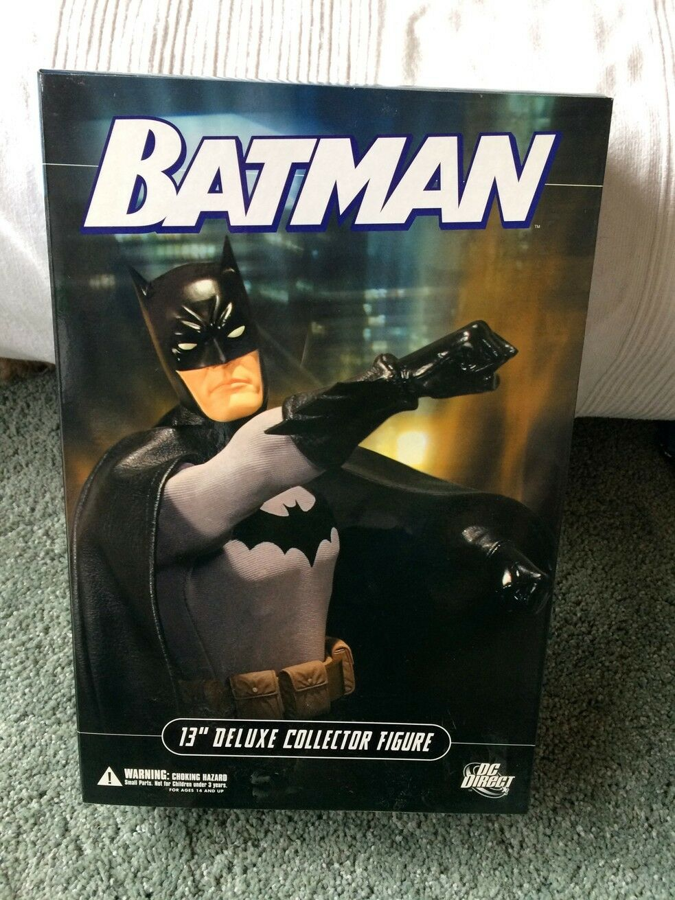 13-Inch Deluxe Batman Collector Action Figure from DC Direct Excellent condition