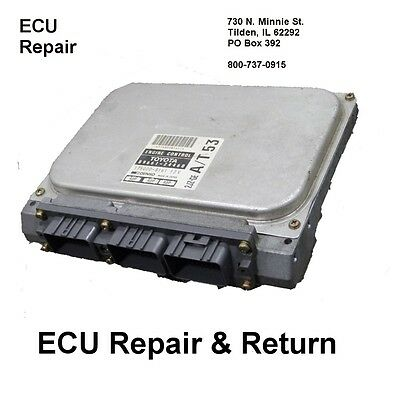 Lexus SC400 Engine Computer ECU ECM 1992 1993 1994 Repair Fits: Lexus SC 400