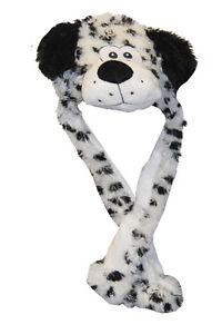 Fasching Mutze Erwachsene Karneval Kostum Mutze Hund Dalmatiner