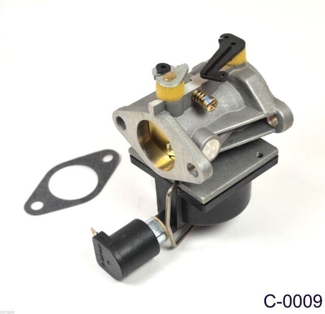Carburetor For Tecumseh 640330A OV490 With Fuel Shut Off Solenoid /& Free Gasket