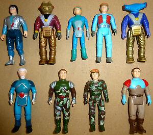 Dino-Riders-Figuren-Tyco-Orion-Termite-Llahd-Turret-Boldar-Gunnur-Sammlung