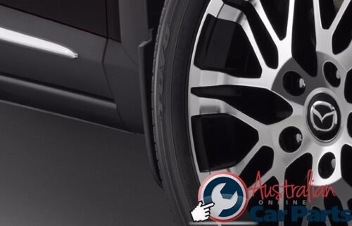 MAZDA CX3 Front /& Rear Mudflap Kit combo Genuine 2015 accessories