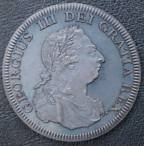 George Iii W/coa At Any Cost 1808 Bahamas Retro Pattern Proof Crown Bronzed Copper 5 S Coins