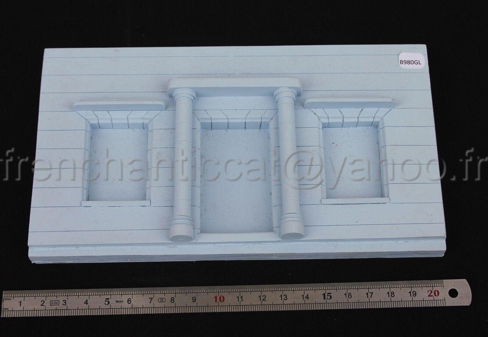 GL Façade 1 43 diorama prougeotype plastique Heco Miniature maison resine voiture