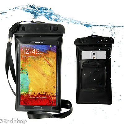 Waterproof Armband Bag Dry case for Samsung Galaxy Note 2 N7100 S3 S4 htc one