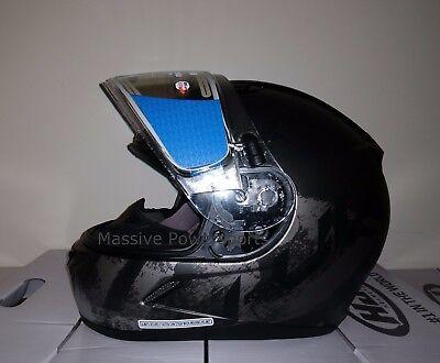 HJC CL-17 Arica Dual Pane Shield Snow Helmet Semi Flat Black//Silver LG