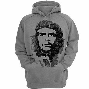 Hoodies-Che-Hooded-Sweatshirt-Mens-Hoodie-Gray-SweatShirts