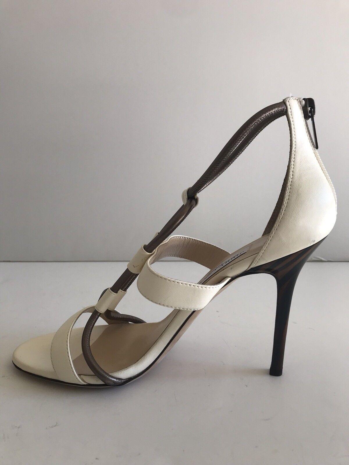 Jimmy Choo Venus Stud-Front T-Strap Sandal Size 10.5US 40.5EUR 40.5EUR 40.5EUR MSRP  995 b1d6da