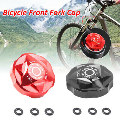 MTB Bicycle Air Gas Valve Cover Bike Front Fork Cap Protector Bicycle Accessory