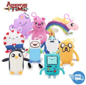 10-33cm-Adventure-time-Plush-Toy-Doll-Jake-Finn-Penguin-Gunter-Stuffed-Xmas-Gift