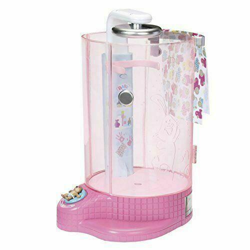 Baby Born 38cm doccia pioggia regolabile Divertente-Rosa