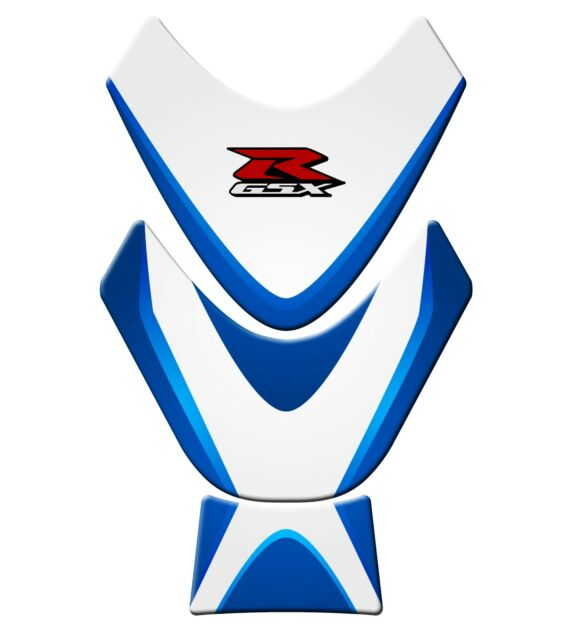 1 Piece Motorcycle Sticker Decal Gas Fuel Tank Protector Pad for Suzuki GSXR,GSR 600,750,1000 Blue