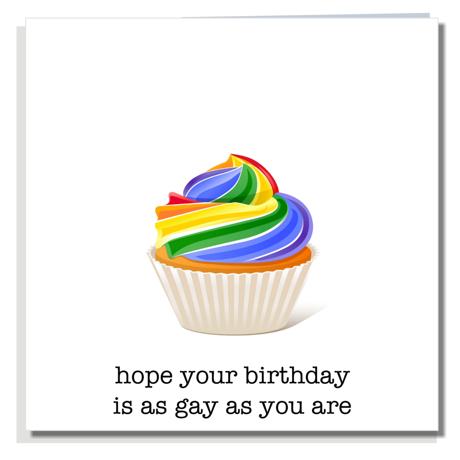 FUNNY BIRTHDAY CARD Lesbian Gay Ideal For Son Daughter Brother ...