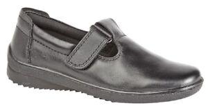 en cuir Chaussures T L996 barre rembourrᄄᆭes avec Comfys en Mod 6gvbf7yIY