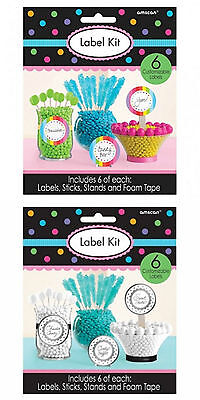 Lolly Buffet Label Kit Wedding Party Favour Jar Sticker Decorations Signs