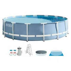 Intex 15ft X 42in Prism Frame Above Ground Swimming Pool