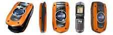 Casio G'zOne Boulder C711 - Orange (Verizon) Cellular Phone (- no camera, no speaker)