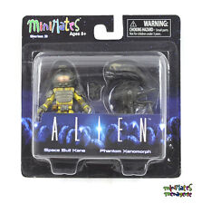 Aliens Minimates TRU Toys R Us Wave 3 Space Suit Kane & Phantom Xenomorph