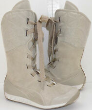 PUMA Front Lace Lined Athletic Style Winter Boots Women's 38 US Shoe Size 7.5