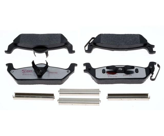 Disc Brake Pad Set-XL Rear Raybestos EHT1012H