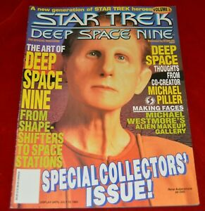Star-Trek-Deep-Space-Nine-Magazine-Odo-Cover-Rene-Auberjonois-1993