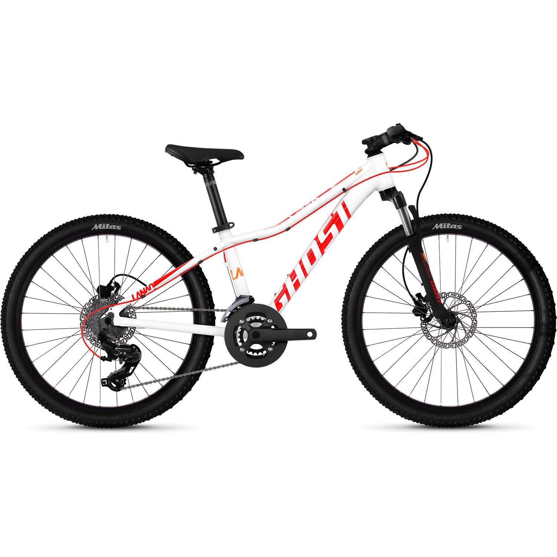 Mountain Bike 24 Inch Hardtail Boys' Bicycle MTB Bike Ghost Lanao D4.4 Al W