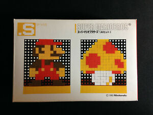 Tomytec Dot S Pin Super Mario Bros Pixel Art Retro Game