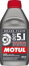 Motul DOT 5.1 Brake Fluid - High Performance - 100% Synthetic - 500 ml - NEW