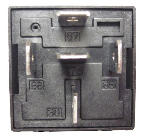 5 Pin SPDT 40 Amp Relays /& Sockets Car Electrical Installs Relay 10pk