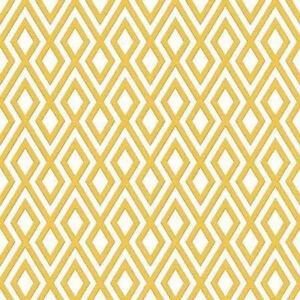 Geometric Wallpaper 3d Glitter Sparkle Textured Diamonds Mustard