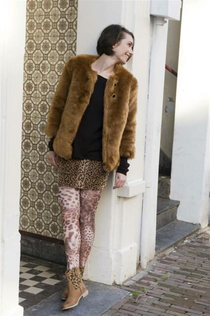 Bonnie Doon Strumpfhose Modell:Leopard Skin Tights Gr. S (38 - 40) Neu 50 Den