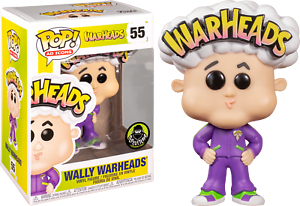 Cabezas-Wally cabezas Pop Vinilo Figura Funko Raro!